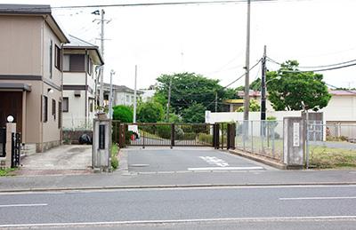 旧小池学園正門